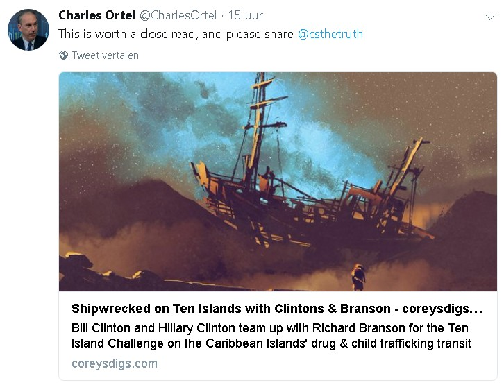 Shipwrecked on Ten Islands with Clintons & Branson by Coreysdigs.com