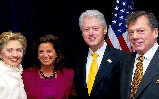 Clintons-Bronfman